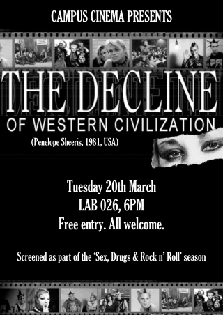 decline of western civilization